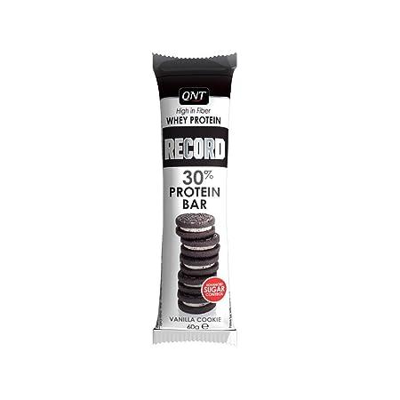 QNT Record 30% Protein Bar 60g Vanille; 15 Riegel