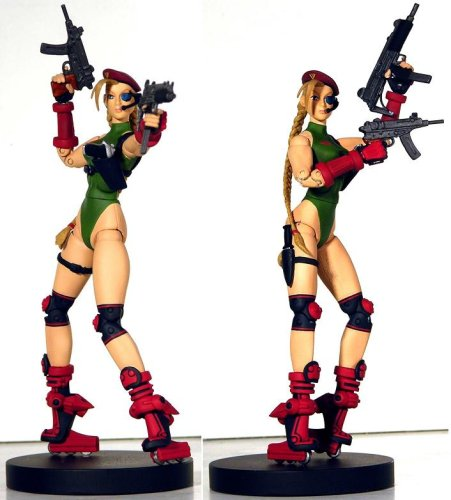 Buy Low Price SOTA Exclusive Cannon Spike Cammy Action Figure (B000FRCTWK)