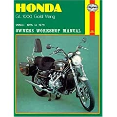 Honda GL1000 Gold Wing, 1975-79 (Owners Workshop Manual)