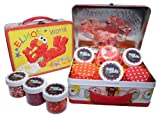 Elmo Cupcake Kit in Collectible Tin #1 by Crispie Sweets - Sprinkles and Baking Cups Set
