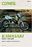 img - for Kawasaki Kx250: 1992-2000 (Clymer Motorcycle Repair) book / textbook / text book