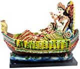Paras Radha Krishna on Boat