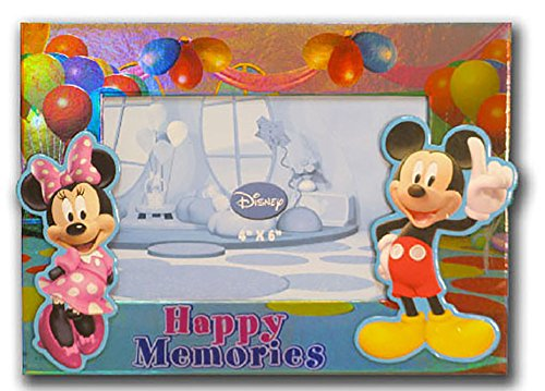 Disney Mickey & Minnie Mouse HAPPY MEMORIES Photo Picture Frame (Disney Picture Frames compare prices)