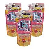 フルーツ洗剤ネオポポラ ポポラクリーン詰め替え用360ml 3個セット