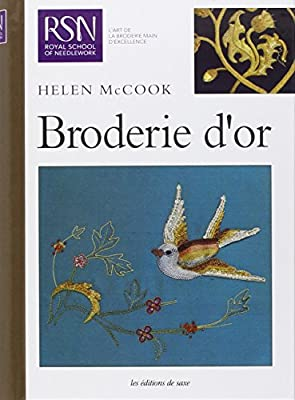 Broderie d'or par Hélen Mccook