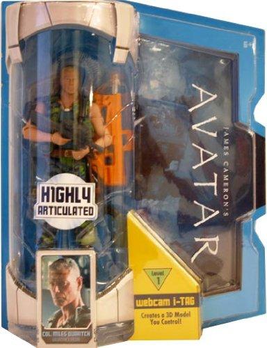 Buy Low Price Mattel James Cameron's Avatar Figure Col. Miles Quaritch (B003COLH26)