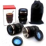 tinxi® Kamera-Kaffeetasse Camera Lens Mug / Lens Coffee Cup Objektiv Camera Lens-Becher Trinkbecher in Kameraobjektiv Form für Kaffee, Milch, Wasser
