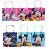 Disney Mickey and Minnie Party Favor Goodie Small Gift Bags 12