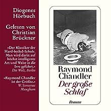 Der große Schlaf Hörbuch von Raymond Chandler Gesprochen von: Christian Brückner