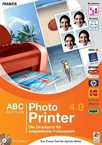 Photo Printer 4.0 / Der Druckprofi für vorgestanzte Fotopapiere / CD- ROM