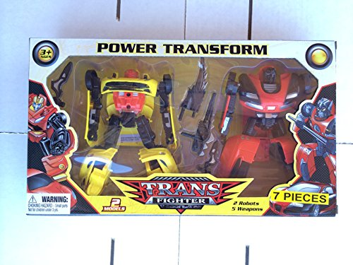 Trans Fighter Transformer Robots by Power Transform