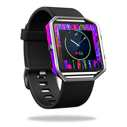 MightySkins Protective Vinyl Skin Decal for Fitbit Blaze cover wrap sticker skins Drips