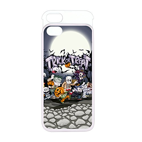 iPhone 5 or 5S Wallet Case Pink and White Halloween Trick or Treat Costumes (Werewolf Outfits Halloween)