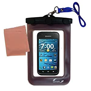 underwater case for the Kyocera Hydro XTRM - weather and waterproof case safely protects against the elements