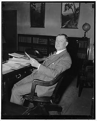 Photo: Old Bureau,proposed economics agency,Dr. Alexander V Dye,Washington DC,1938