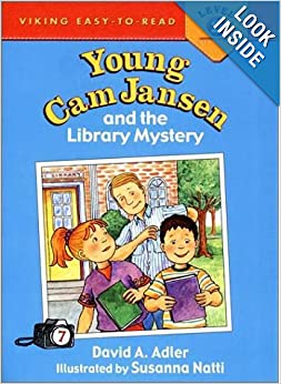 Amazon.com: Young Cam Jansen and the Library Mystery