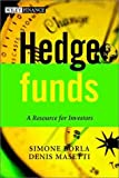 Hedge funds=a resource for investors