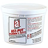 AST-PUT 25203 Plumber's Putty, Professional Grade, Tan, 3 lb. Tub