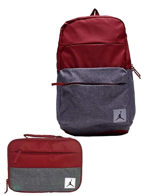 0d18742c8678 Air Jordan Jumpman Backpack   Matching Insulated Lunch Tote (Gym Red) (Color   Red
