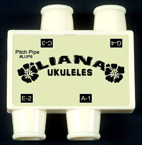 Liana Ukulele Pitch Pipe -C-G-E-A