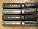 THE LORD OF THE RINGS. THE HOBBIT, THE FELLOWSHIP OF THE RING, THE TWO TOWERS, THE RETURN OF THE KING. 4 VOL SET