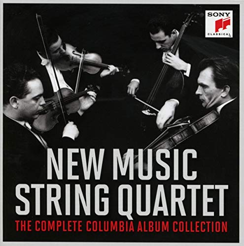 CD : NEW MUSIC STRING QUARTET - Complete Columbia Album Collection (10 Discos)