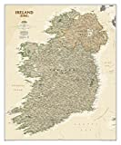 National Geographic Maps Ireland Executive, tubed Wall Maps Countries & Regions (National Geographic Reference Map)