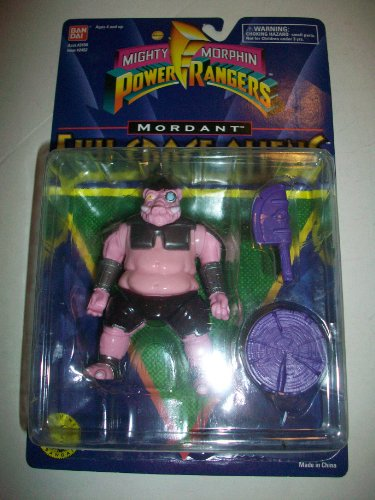 Buy Low Price Bandai Power Rangers the Movie MMPR 1995 Evil Space Alien Mordant MOSC MOC NEW 5 1/2″ Rare Action Figure (B005EDV7Y6)