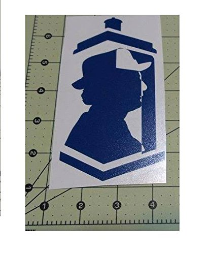 Dr Who Tardis Decals Doctor 7 Vinyl Decal Sticker Car Window Wall Macbook Notebook Laptop Sticker Decal by Stickeebees