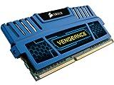Corsair CMZ8GX3M2A1600C9B Vengeance 8GB (2x4GB) DDR3 1600 Mhz CL9 XMP Performance Desktop Memory Kit Blue
