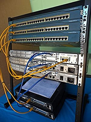 Cisco CCNA CCENT Massive Lab KIT 5x Routers 3x Switches