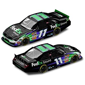 NASCAR Denny Hamlin #11 FedEx Ground 1/64 Kids Hardtop Car 2012
