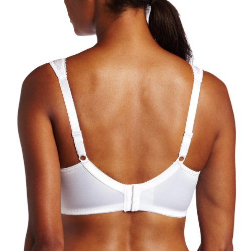 Playtex Women's 18 Hour Ultimate Lift And Support Wire Free Bra,White,36B