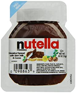 Nutella Single Serve, 15g (Pack of 120)