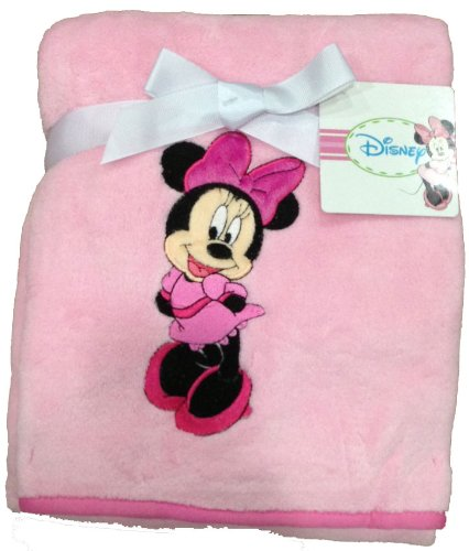 Disney Minnie Mouse Coral Fleece Baby Blanket