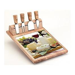 Tabla y cuchillos para queso