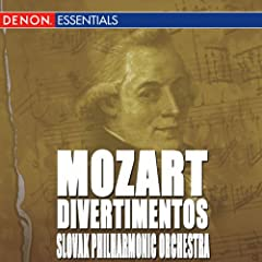 Mozart: Divertimentos - K 136-138, 113, 251 & 205
