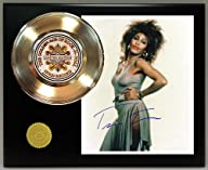 Tina Turner Gold Record Signature Series LTD Edition Display