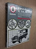 Land Rover 2, 2A, 3 1959-78 Autobook (The autobook series of workshop manuals)