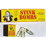 4 X 36 Stink bombs-3 Glass vials Per box-Stinky and Smelly
