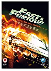 Fast & Furious 1-5 Box Set [DVD]