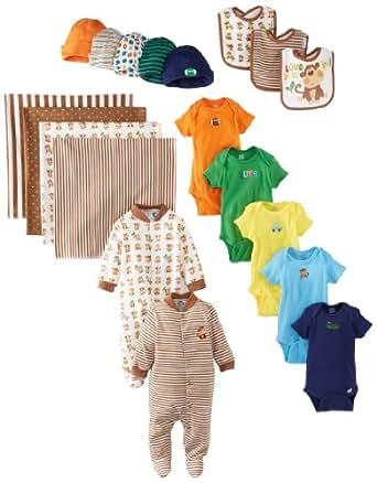 Amazon.com: Gerber Baby-Boys Newborn Boy 19 Piece