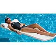 Sunsation Foam Pool Float (White) by TRC Recreation LP