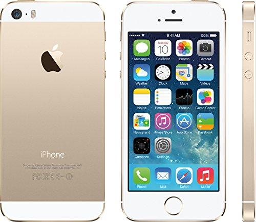 Apple アップル iPhone5s 32GB ゴールド格安SIM使用可能SIMフリー 白ロム アップル社正規整備済み メーカーリファブ品