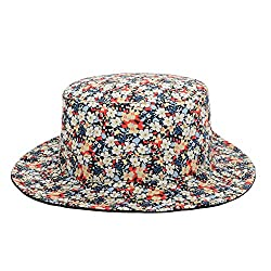 GP Accessories Trends Fashion Reversible Bucket Hat Large Floral Black