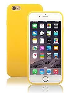 iPhone 6s /6 Case Cover, E LV Apple iPhone 6s/ 6 ULTIMATE Protection SUPER SLIM Anti-slip coat Protective TPU Case Cover for Apple iPhone 6s / 6 - YELLOW