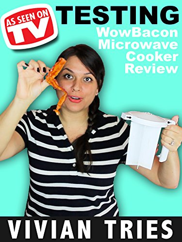 Vivian Tries WowBacon Microwave Cooker Review