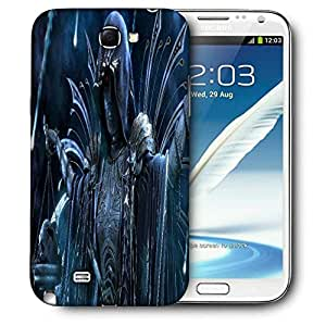 Snoogg Fantasy_50Dddb4B Printed Protective Phone Back Case Cover For Samsung Galaxy Note 2 / Note II