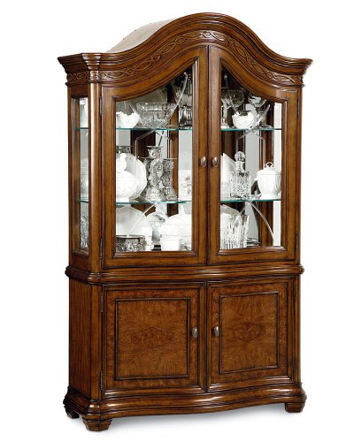Picture of A.R.T. Furniture China Cabinet - Hickory (65240-2636R) (65240-2636R) (China Cabinets)