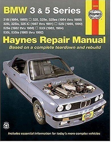 Bmw 3 and 5 Series Automotive Repair Manual, LARRY WARREN, JOHN H. HAYNES
